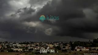 Η Ισχυρη καταιγίδα που επηρέασε την Λευκωσία το μεσημέρι 27.10.2019 ⛈⚡️