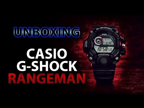 CASIO G-SHOCK RANGEMAN - Unboxing  ((PT))