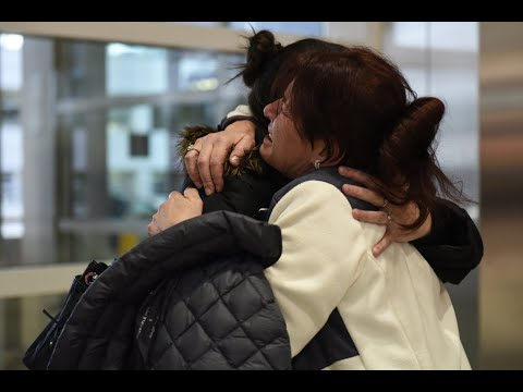 Emotional goodbye at Detroit Metro Airport as woman deported after 30 years in U.S.