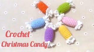 Crochet Christmas Mini Candy Tutorial | DIY New Year Candy