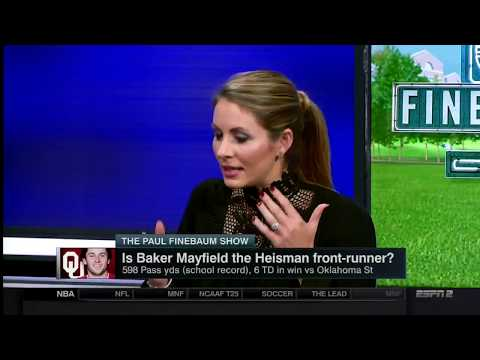 Is Baker Mayfield  the Heisman front-runner? The Paul Finebaum Show