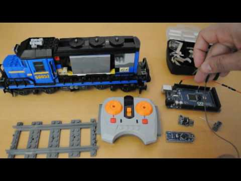 Arduino For Lego Trains #11: Controlling Power Functions Trains