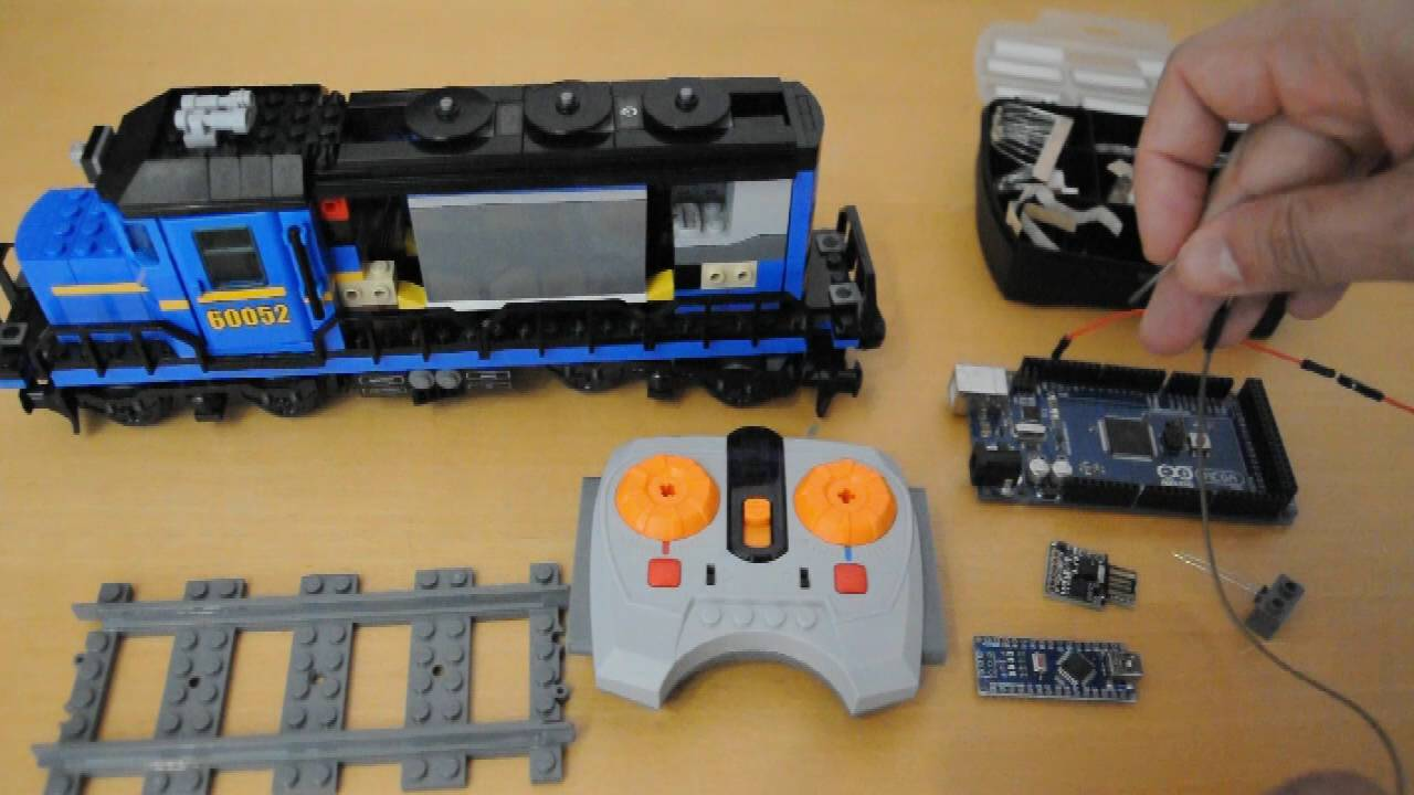 Arduino for lego trains controlling power functions