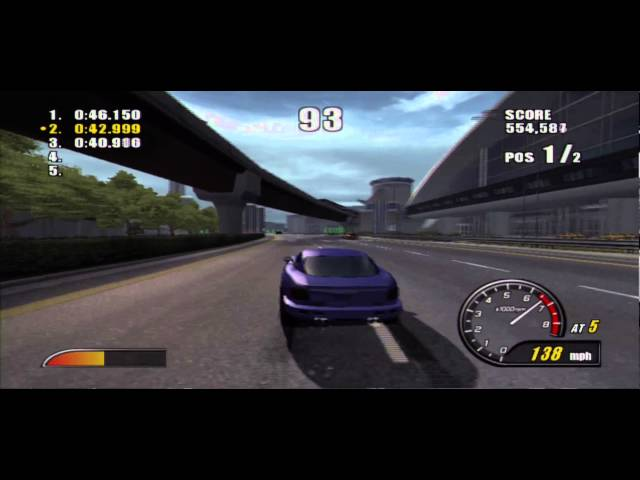 Burnout 2: Point of Impact (PS2) - Face Off 2