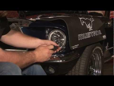 Mustang Redline Lumtronix LED Halo Headlights 1965-1968/1970-1973 Installation