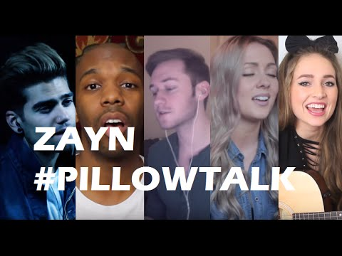 TOP 5 COVERS of PILLOWTALK - ZAYN
