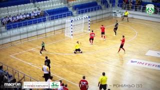 Первый гол «Столицы» во Дворце спорта «Уручье»