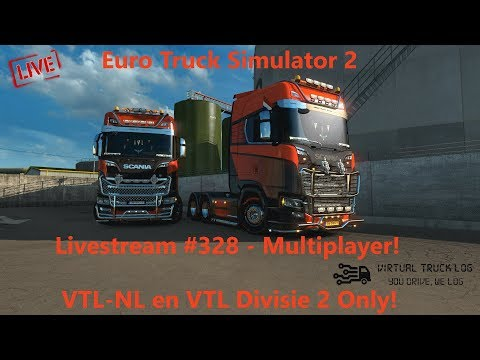 Euro Truck Simulator 2 | Livestream #328 | Multiplayer | Log