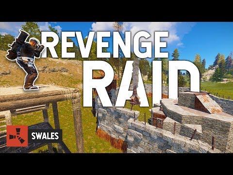 REVENGE RAID ON OUR NEIGHBORS - RUST thumbnail