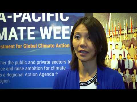 Voices from Asia-Pacific Climate Week 2017: Jenny Koh
