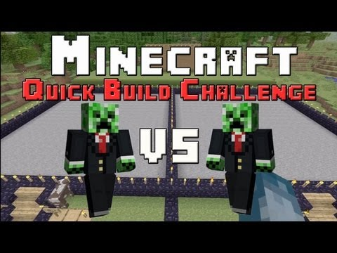Minecraft Xbox - Quick Build Challenge - Ships