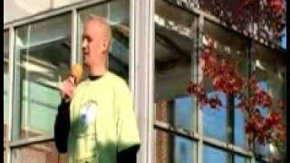 Justin Andrews -Keynote Speaker at 2009 Raleigh Free to Breathe-Part 1 My Journey to Remission