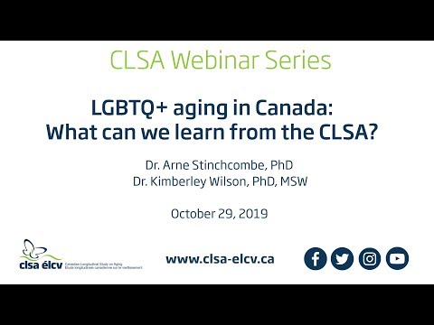 LGBTQ+ Aging In Canada: What Can We Learn From The CLSA?