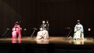 柴田三兄妹 「津軽じょんから節」in 高雄 2014.12.21