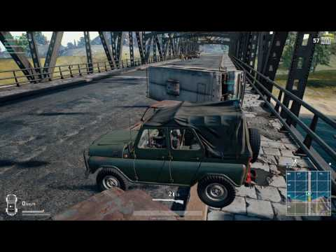 Pubg Roof Stunt Pubg Extreme Bridge Crossing Doovi