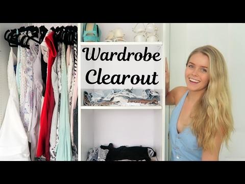 Decluttering My Wardrobe! - What's In My Wardrobe?