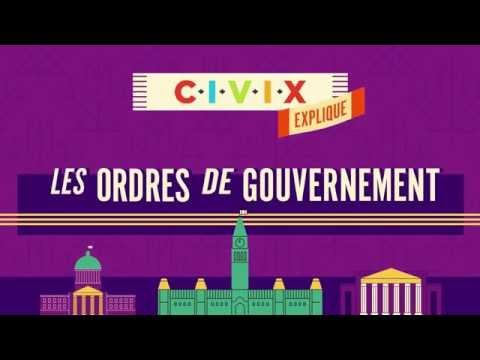 Les ordres de gouvernement