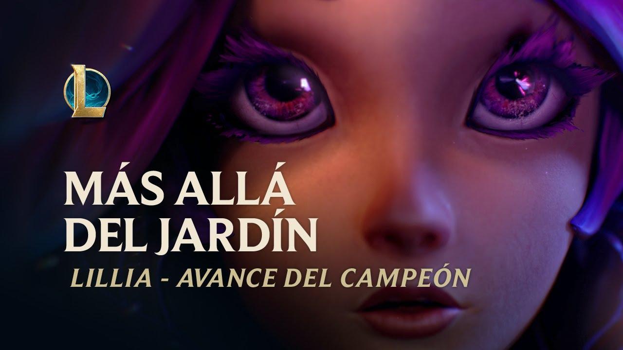 Más allá del jardín   Avance de campeón de Lillia - League of Legends