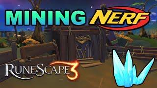 Huge Mining Nerf! How Will it Affect RuneScape 3?