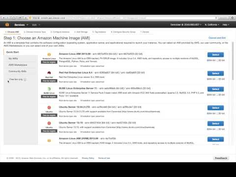 Webinar 2013: Getting Started with Amazon Web Services - Cloud Computing Services