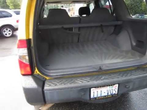 2000 Nissan Xterra Solar Yellow Metallic Stock 5242