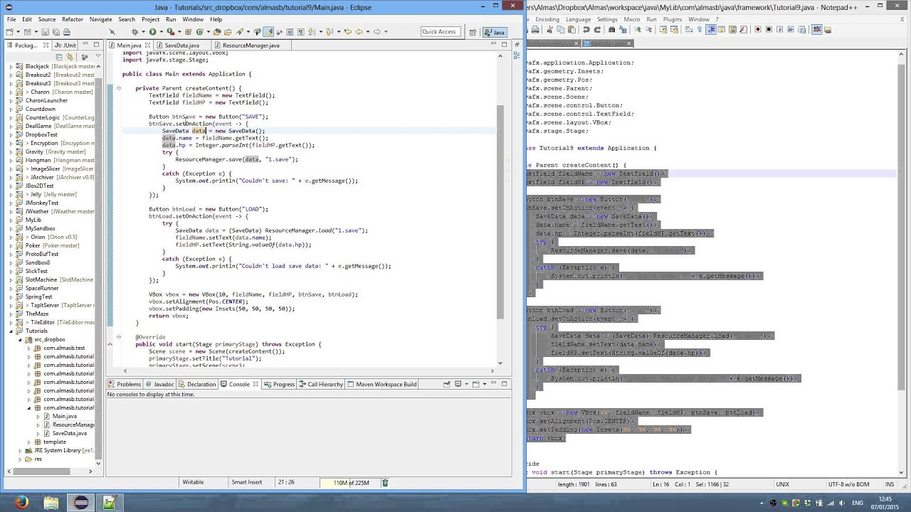 Java Serialization (Save/Load data)
