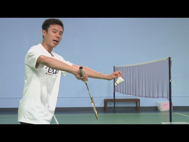 Backhand Flick Serve in Badminton : Badminton