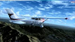 Agua Dulce (L70) to 29 Palms (KTNP), CA.with FSX and ORBX Scenery