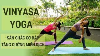 ⭐ Tập Vinyasa Yoga, săn chắc cơ bắp và tăng cường miễn dịch | Tập Yoga tại nhà