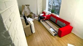 Building Ikea Kivik Couch Within One Minute