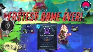 DUELYST: Fastest Duelyst Game Ever