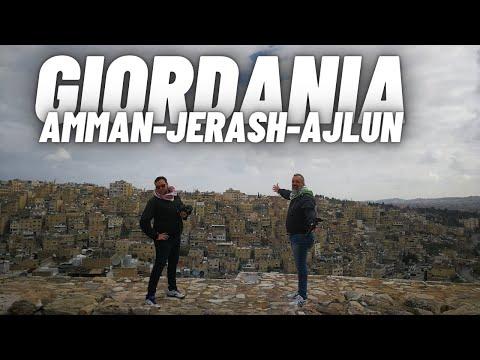 Giordania , 4°giorno visita ad Amman,Jerash e Ajlun