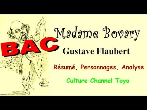 BAC Madame Bovary : Résumé, Personnages, Analyse, Livre audio - YouTube