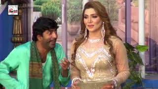 SAJAN ABBAS OR KHUSHBOO KI DEAL HO GAI - Best Comedy Scenes Of 2018 in Stage Drama||Very Funny😂
