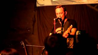 Dave Hause - Resolutions, at the Cricketers in Kingston