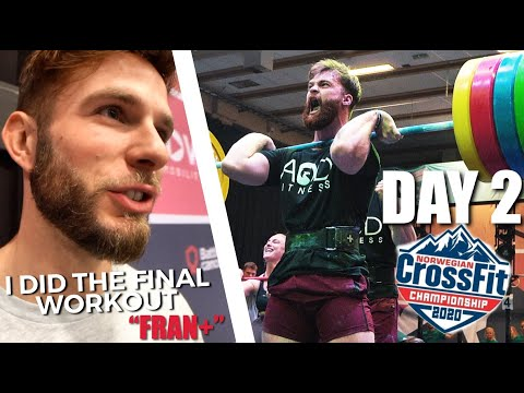 Norwegian CrossFit® Championships: Day 2 // Max Clean, HSW, C2 Workout
