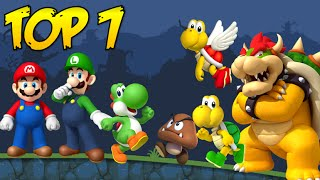 top 7 mario bros characters in bad piggies
