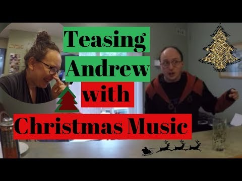 🎅Teasing Andrew with Christmas music day1967