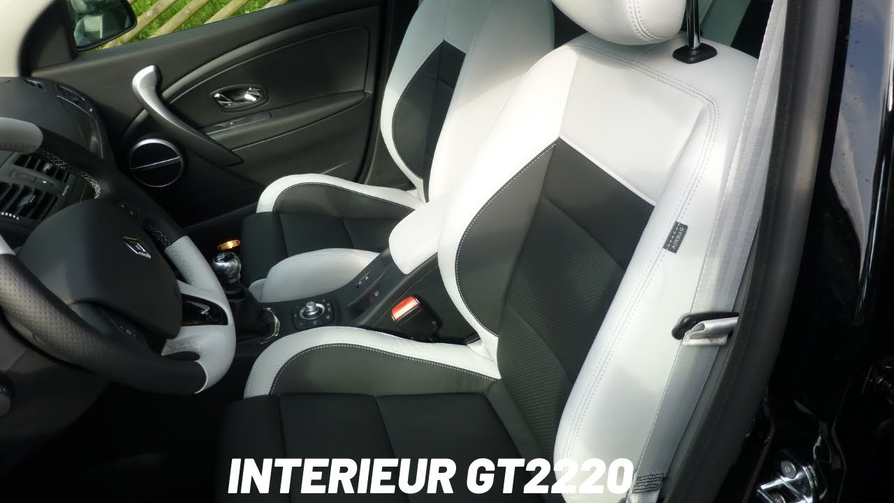 Renault sport megane gt220 tce interieur youtube for Interieur sport youtube