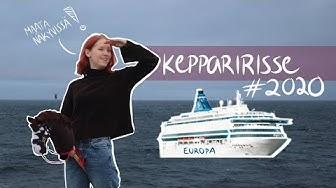 Keppihevoset Tallinnan laivalla! || kepparirisse2020