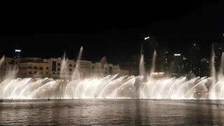 Dubai Fountain November 2016