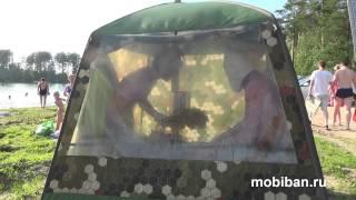 Мужики парятся в Мобибе МБ-10