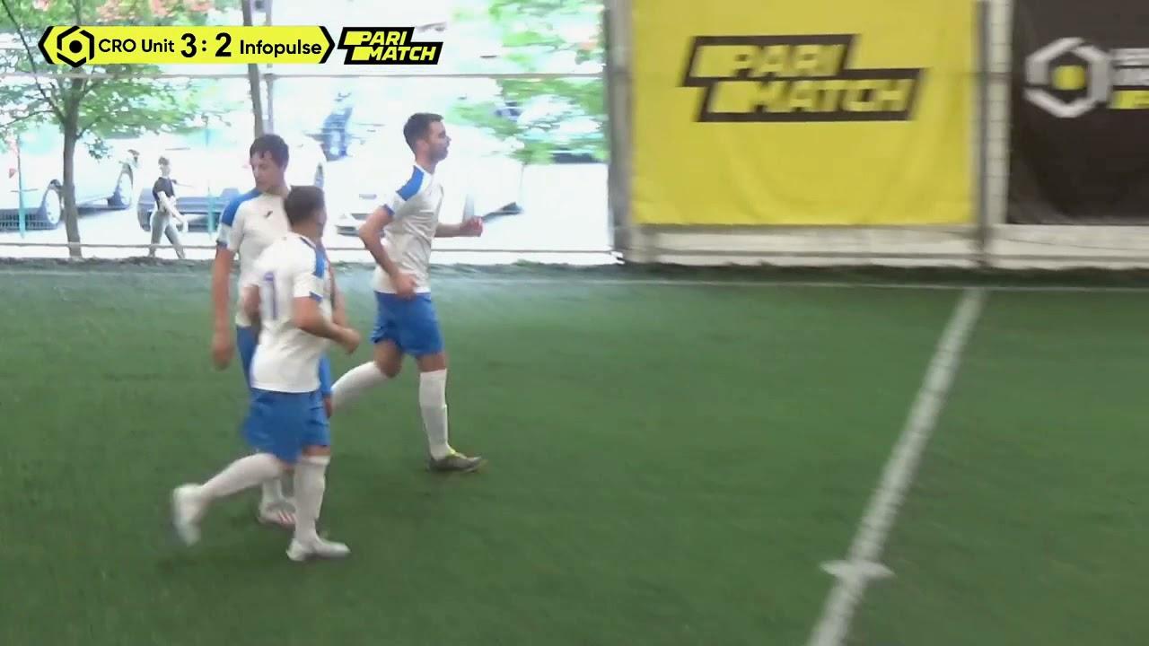 Огляд матчу   CRO United 4 : 3 Infopulse