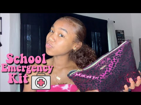 EVERYTHING YOU NEED IN YOUR SCHOOL EMERGENCY KIT 2019 thumbnail