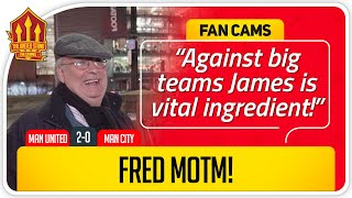 RICKY! MATIC PROVING EVERYONE WRONG! Manchester United 2-0 Manchester City Fan Cam