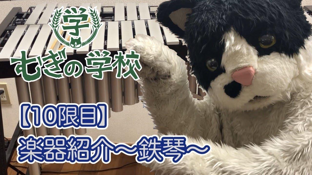 【むぎの学校 10限目】楽器紹介〜鉄琴〜