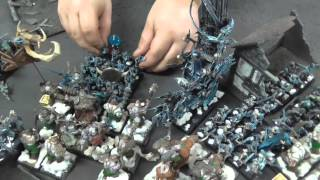 Warhammer Fantasy Batrep: Ogre Kingdoms V. Vampire Counts - Blue Table Painting