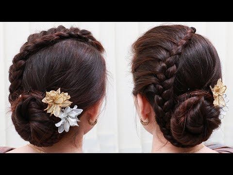 Easy Hair Style for Long Hair || Ladies Hair Style Videos 2017 - PART3