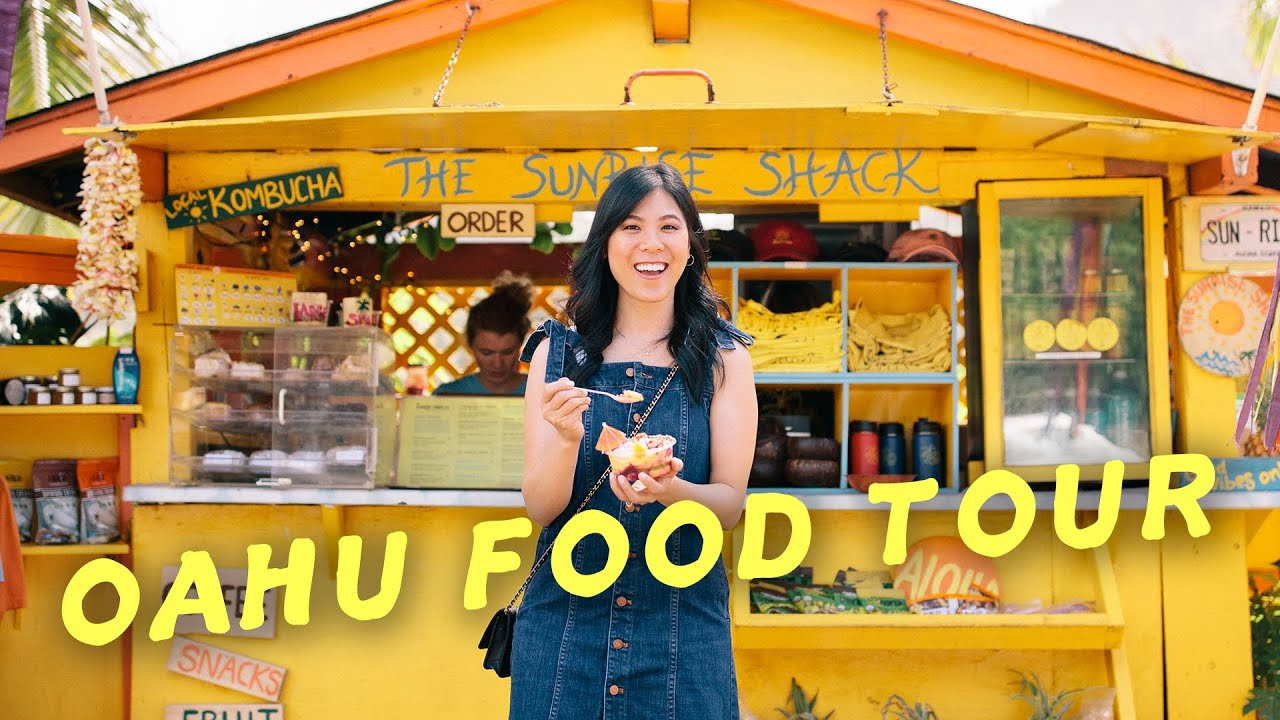 Hawaii Food & Travel Guide - 10 Places to EAT and Visit in Oahu - Honeysuckle