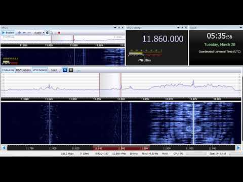 20 03 2018 Republic of Yemen Radio in Arabic to ME 0535 on 11860 Jeddah or Riyadh